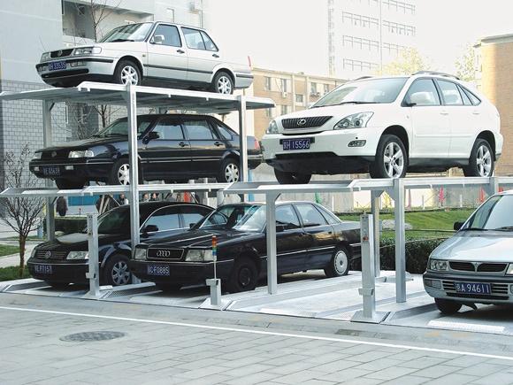 沈阳建伟-简易升降类机械式停车设备;