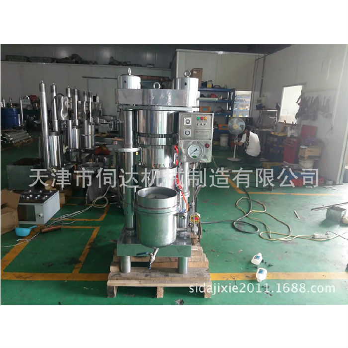 商用小型液压榨油机全自动香油机天津厂家直销;