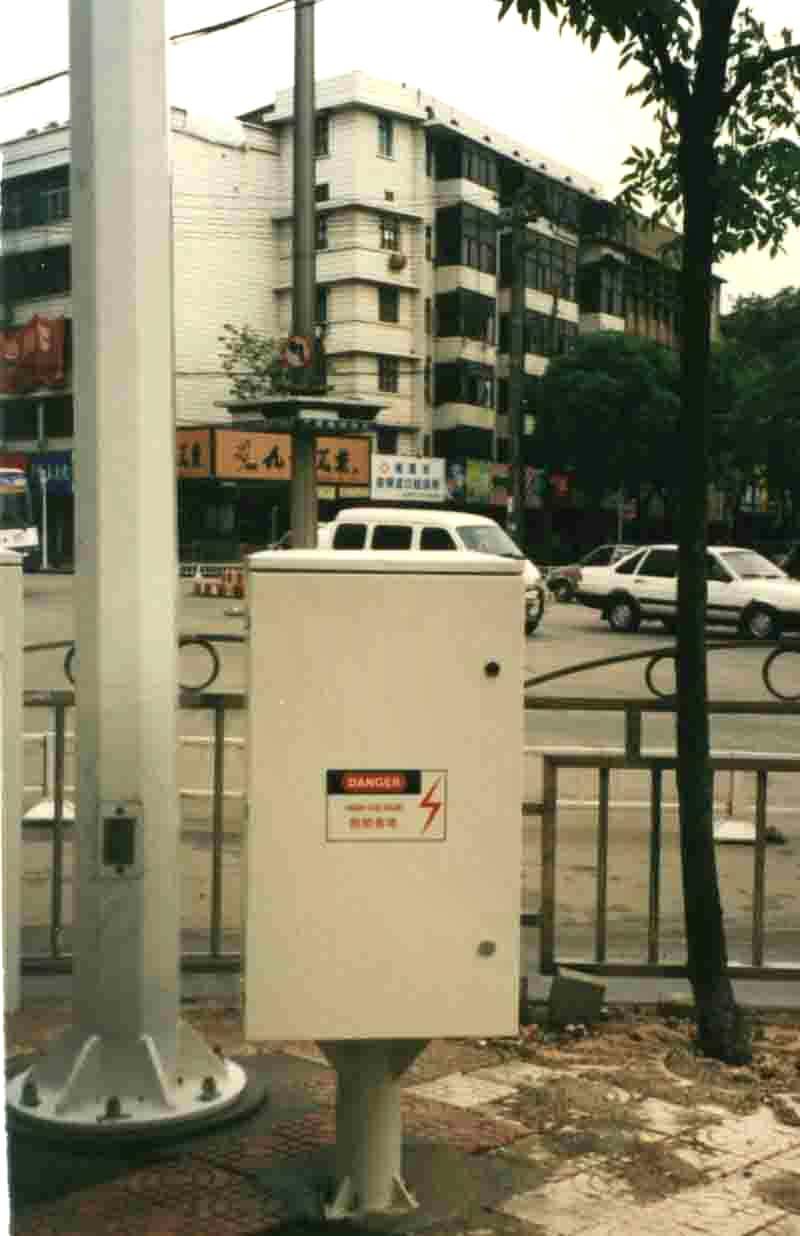 UTC1000A感应式交通信号控制机;