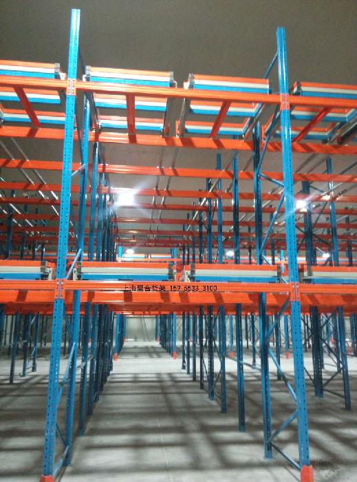 压入式货架专业生产厂家,压入式货架价格图片;