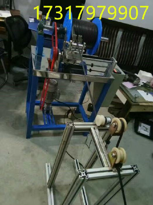 铜丝收线机制造厂 工字轮收线器 绕线机;