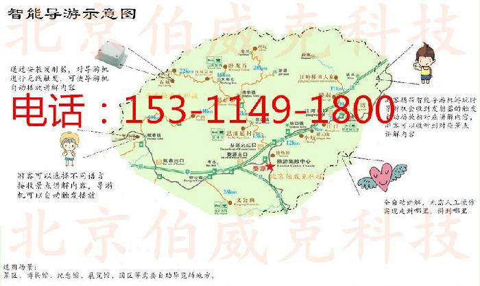 上海景区自动导览器电子导游机无线导览机;