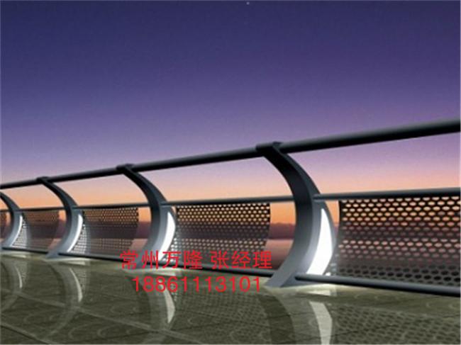 加强型桥梁S型立柱 景观艺术护栏;