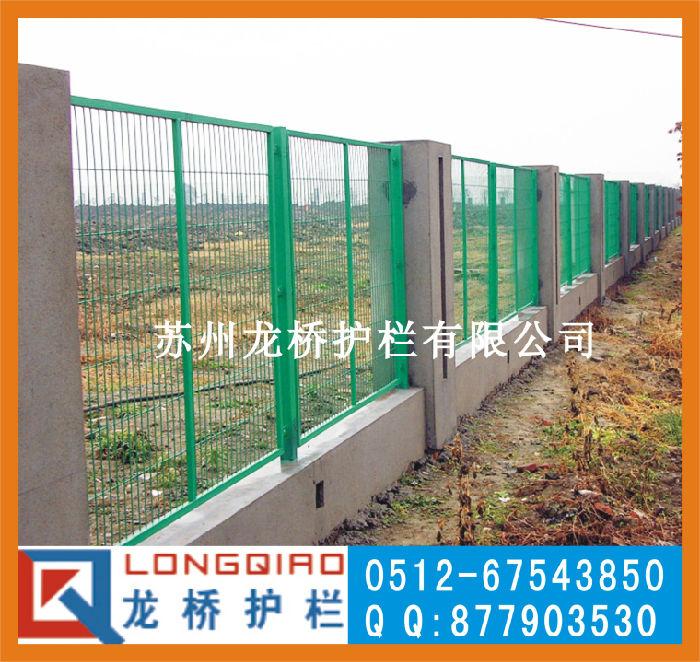 苏州铁丝网 苏州围墙护栏网 包塑钢丝网 龙桥护栏厂家直销;