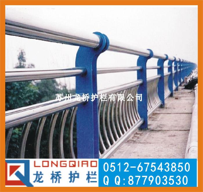 台州桥梁护栏 桥梁两侧人行道安全栏杆 不锈钢碳钢复合管护栏;