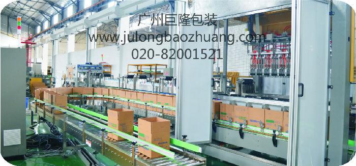 广州巨隆包装 码垛机 瓶装水生产线 输送设备 全自动码垛机