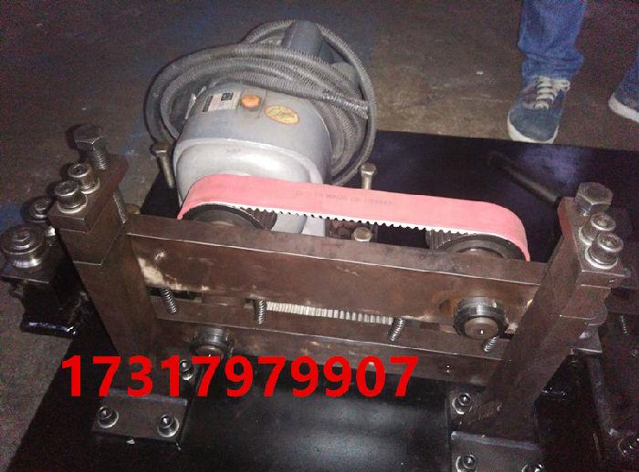 小型管材调直机 皮带牵引校直器 马达动力拉直机;