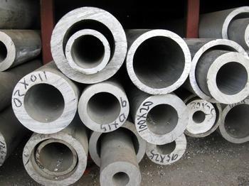 供应厚壁大口径2024无缝铝管、广州高精铝管;