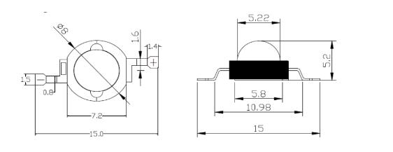 3W/5W大功率红外线;