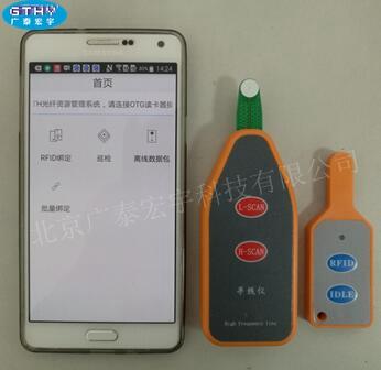 RFID光纤资源管理;