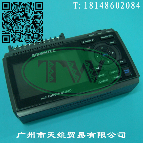 GRAPHTEC多功能记录器GL820;