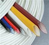 供應比安達優質硅橡膠玻璃纖維套管--內纖外膠