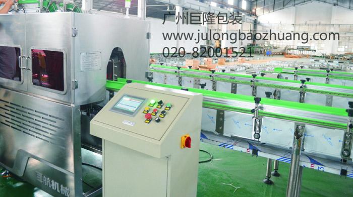 广州巨隆 套环机 全自动套环机 瓶装水生产设备