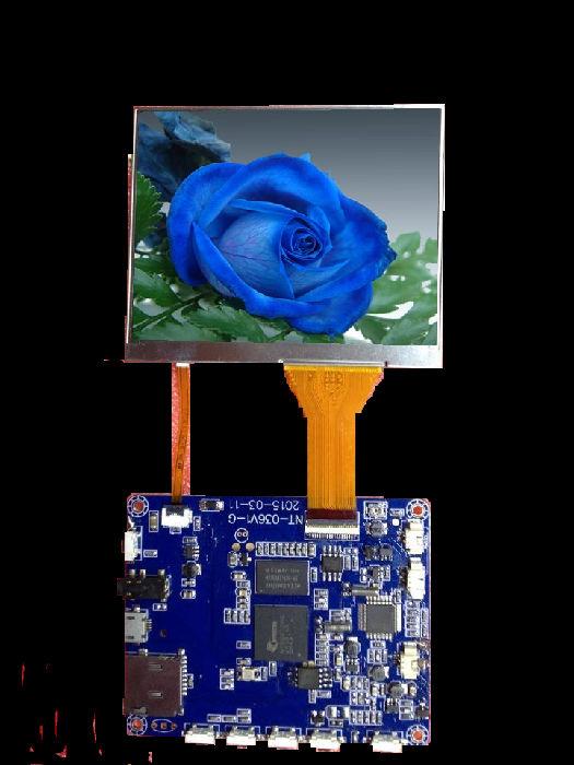 厂家直供电子视频喉镜用高端内窥镜拍照录像SD卡屏加驱动板方案