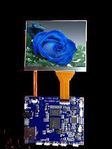 廠家直供電子視頻喉鏡用高端內窺鏡拍照錄像SD卡屏加驅動板方案;