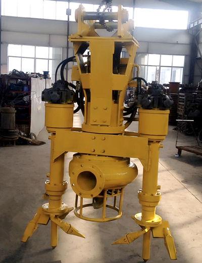 铰刀式液压泥浆泵-可以装配到挖机上的泥浆泵