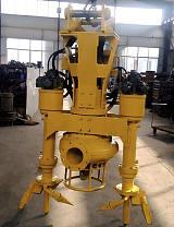 铰刀式液压泥浆泵-可以装配到挖机上的泥浆泵;