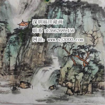 供应福田区空白字画卷轴装裱 书画立轴裱框