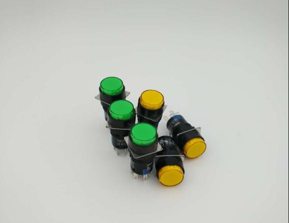和泉IDEC 带灯按钮AL6M-M14GC/RC/YC/WC;