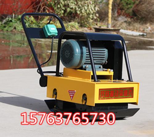 厂家直供 大动力的汽油振动平板夯 手扶式夯实机 沟槽夯土机