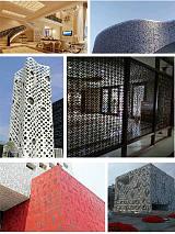 厂家直销铝单板铝合金雕花板;