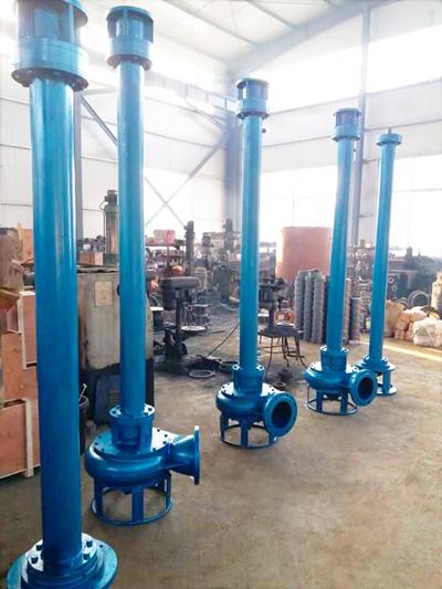 加长型绞吸立式抽沙泵-多种规格、多种材质