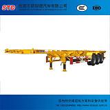 广东40英尺三轴骨架车厂家直销