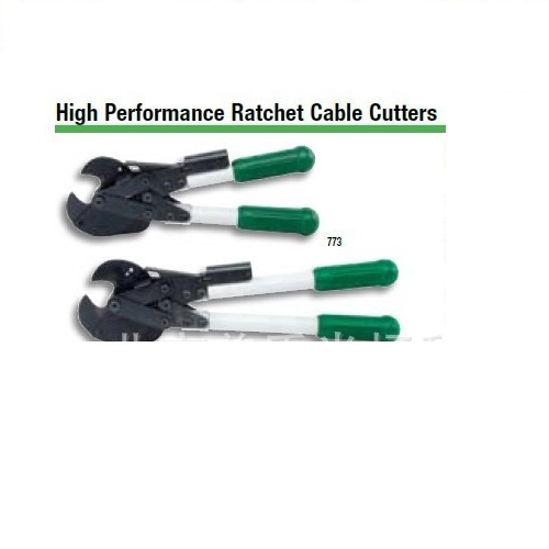 美国GREENLEE773&774棘轮式电缆切刀 ;