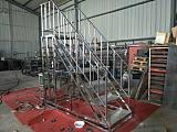 不锈钢扶手焊接、楼梯扶手;