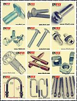 马车螺栓DIN603马车螺丝A307A半圆头方颈螺栓厂家