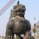 销售铜独角兽雕像专业铸造