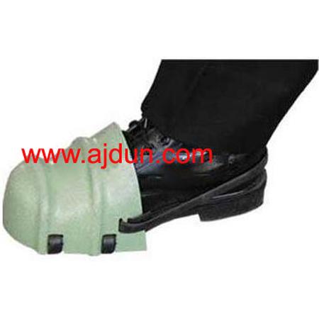 轻型护脚套 访客护脚套 护脚套 防砸防护鞋头 塑料安全鞋头;