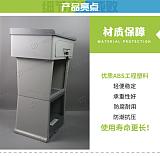 """第二代ABS工程塑料收银台""""安全收银、防潮耐蚀""""造就市场简约之美;"""