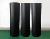 厂家供应0.1mm-0.5mm哑黑PVC卷材;