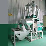 全自动小麦面粉机 每小时加工500斤小麦;