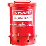 sysbel 廢棄物收集桶/防火垃圾桶/油漬廢棄物防火桶 易燃物防火桶;