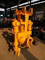 挖掘机液压抽沙泵-适合环保工程、工地施工、清淤工程等;