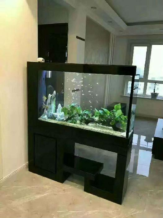 水草缸 免换水鱼缸 合金钢鱼缸