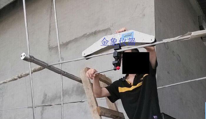 绳索张力计 钢索拉力检测仪 幕墙拉索测力仪 钢丝绳张力拉力拉力计测力仪