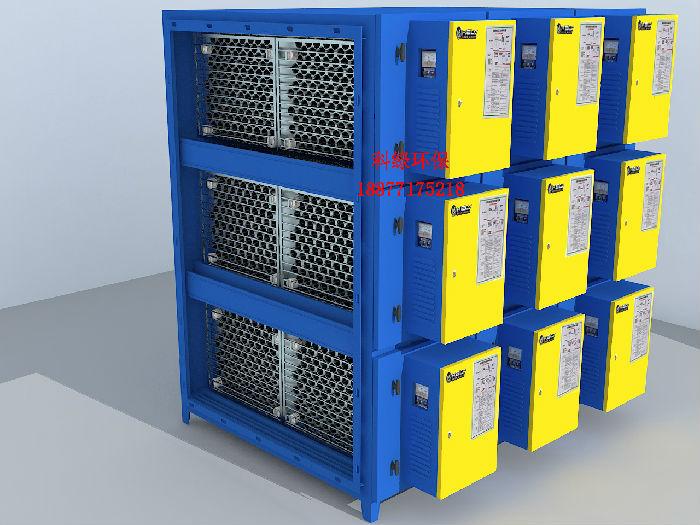 厂家直销圆筒蜂窝型超低空工业油雾净化回收油烟净化器