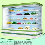 茉莉珂冰柜LDF-2000F2米欧款外机风幕柜水果柜价格;
