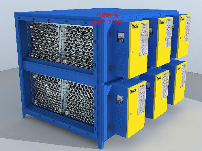 厂家直销圆筒蜂窝型超低空工业粉尘除尘净化处理油烟净化器