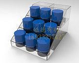 厂家直销亚克力罐子展架商品收纳盒置物架