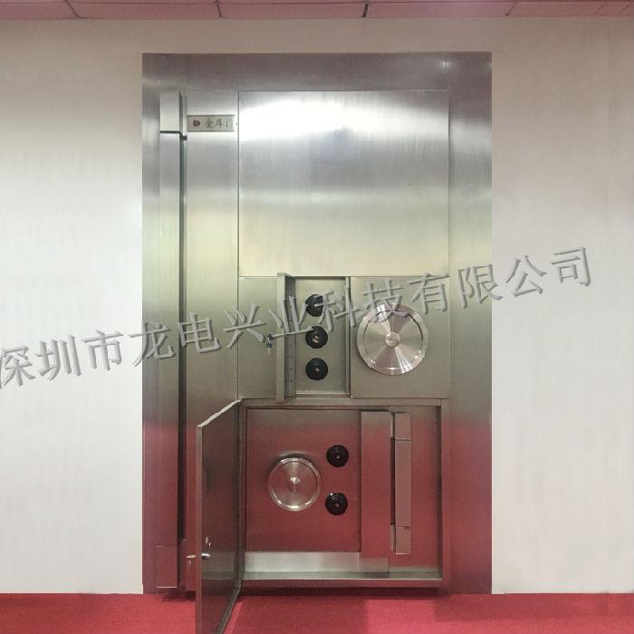 不锈钢金库门 特种门 定制高端银行用门 单开 双开