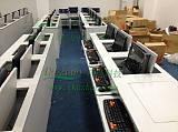 科桌单人翻转电脑桌 隐藏式电脑桌 显示器翻转桌