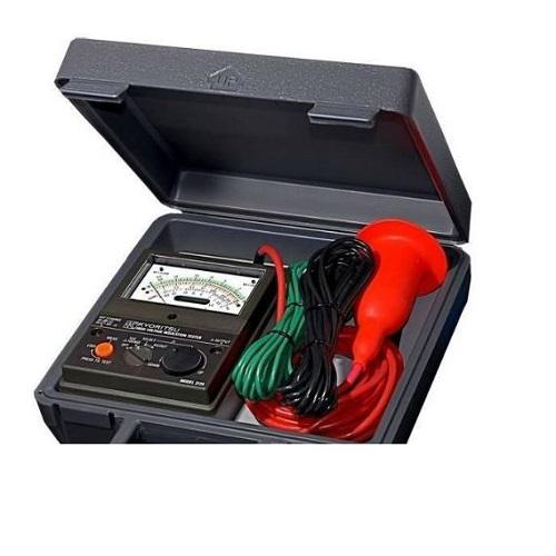 西安美氏米阳日本共立MODEL 3124S模拟式高压绝缘电阻计;