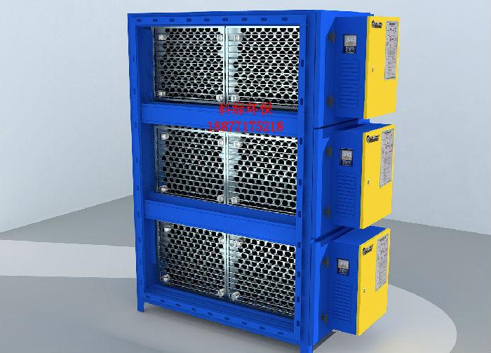 厂家直销圆筒蜂窝低空型工业油烟净化器