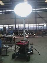 搶險救災必備的全方位照明燈手推式夜間照明設備;