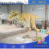 大型仿真恐龙恐龙衣服皮套仿真动物演出服可动可叫互动表演厂直销;