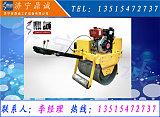 河北邯鄲修補路面小型壓路機 草坪600毫米寬度的振動碾子機;